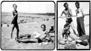 Rantaelämää Terijoella 1930-luvun lopulla.