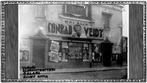 Elokuvateatteri Salama Pellervonkadulla Viipurissa.