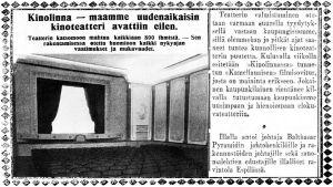 Uutinen Karjala-lehdessä.
