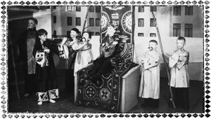 Heimo Haitto esiintyy 8.3.1936 Viipurin lapsioopperan kanssa Helsingissä.