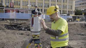 arkeologiska utgrävningar i Åbo, torget, Arttu Liimatainen
