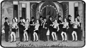 Mustalaisruhtinatar-operetti Viipurin Kaupunginteatterissa 1933.