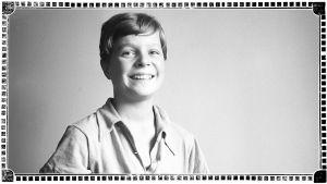 Heimo Haitto 13-vuotiaana keväällä 1939.