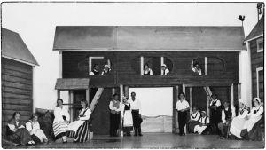 Leevi Madetojan ooppera Pohjalaisia Viipurin Musiikkiopiston esityksenä 1933.