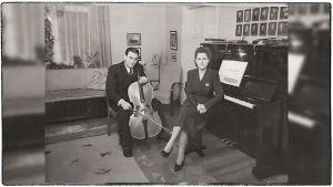 Kauko ja Tellervo Mankonen 1940-luvulla.