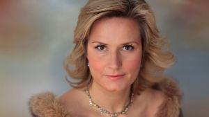 Oopperalaulaja Camilla Nylund.