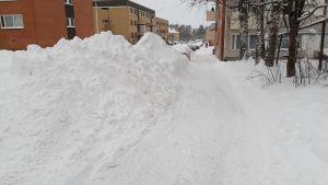 Luminen katu Kajaanissa
