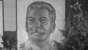 Maalaus Josif Stalinista 1950