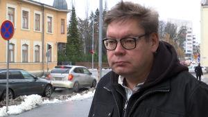 Pääluottamusmies Jukka Porola.