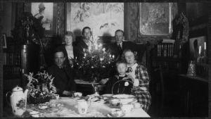 Boris ja Greta Sirpon koti Viipurissa Hotelli Finlandian yksityisessä kerroksessa 1926.