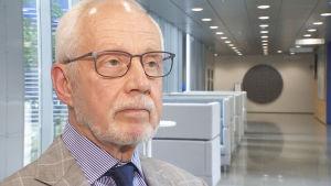 Postens styrelseordförande Markku Pohjola.