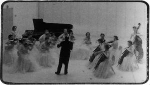 Boris Sirpo ja Portlandin kamariorkesteri vierailulla Suomessa 1955.