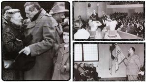 Boris ja Greta Sirpo vierailulla Lahdessa 1955.