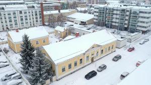 Vanha Kemin historiallinen museo, johon rakennetaan hotellia.