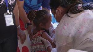 Omfattande vaccineringskampanj i Samoa