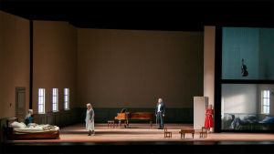 Sebastian Fagerlundin ooppera Syyssonaatti Suomen kansallisoopperassa syyskuussa 2017.
