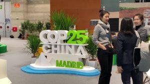 Kina på klimatmötet i Madrid