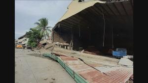 jordskalv på filippinerna