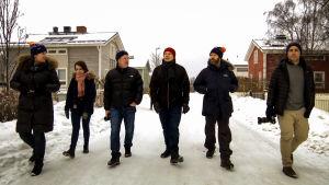 Ryhmä Hollywood scauttaajia vierailee Oulussa