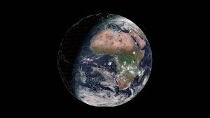 Maapallo tänään (31.12.2019) Meteosatin kuvaamana