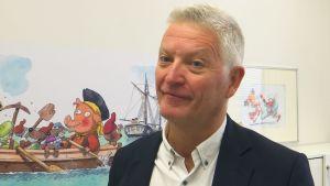 Erik Qvist är barnläkare.