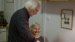 Stig-Björn on vaimonsa Irjan omaishoitaja