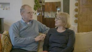 Antti ja Sarianna Joukainen työskentelevät molemmat kirurgeina.