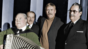 Vimeinen keikka, Topi Tuomainen, Esko Pesonen, Risto Salmi ja Olavi Levula