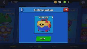 En lootlåda från spelet Brawl Stars. Ser ut som en verktygsback.
