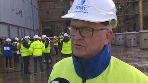 Håkan Enlund, försäljningsdirektör på Rauma Marine Constructions.