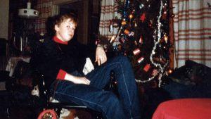 Marcus Rosenlund som ung.