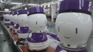 Robottillverkning i Kina