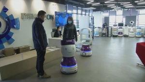 Robotar i Kina