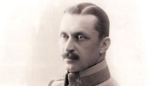 Mannerheim - ateljebild 1918