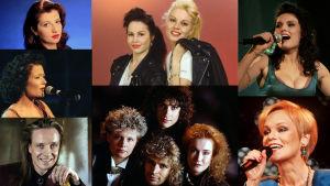 Kaikki 90-luvun euroviisuedustajat