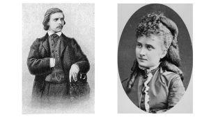 Pianistit Carl Tausig ja Alie Lindberg.