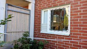 Asunto, jossa räjähti 25.5.2020.