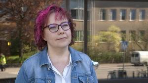 Porträtt på forskaren Tarja Sironen.