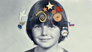 Tobias Zilliacus som barn.