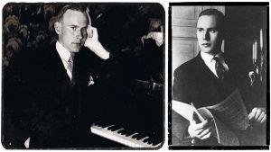 Pianotaiteilija Sergei Kulikoff (myöh. Kulanko) 1920-luvulla.