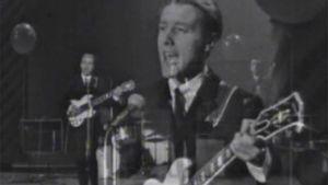 Englantilainen Ken Levy & The Phantoms esiintyy Linnanmäen Peacock-teatterissa 1964.
