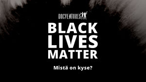 Black Lives Matter -kuvitus