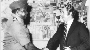 Idi Amin och Jörgen Illeman
