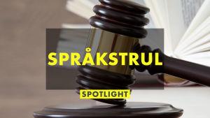 Affishbild för Spotlight om språkstrul i lagtexter 28.9.2020