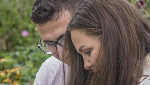 bild på Miranda Hajdini och Besnik Hajdini