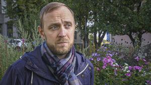 porträtt bild på Kjell Helenius