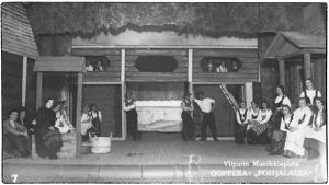 Madetojan Pohjalaisia Viipurin Musiikkiopiston esityksenä 1933.