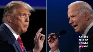 Kuvapari Trump – Biden