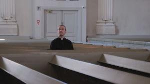 Jimmy Österbacka i kyrkan