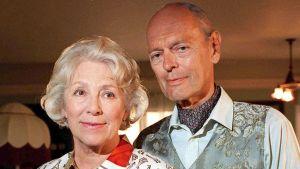 Märta Laurent och Leif Wager.